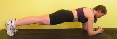 Elbow/Toe  Plank