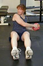 Medicine Ball Oblique Twists