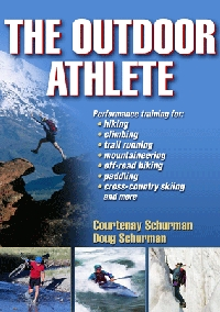 The Outdoor Athlete Book by Courtenay and Doug Schurman